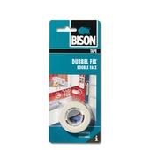 Bison Dubbel fix dubbelzijdige tape 19mmx1,5m