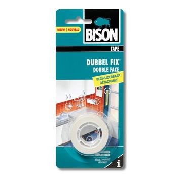Bison doublefix binnen verwijderbaar blister 19 mm x 1,5 m