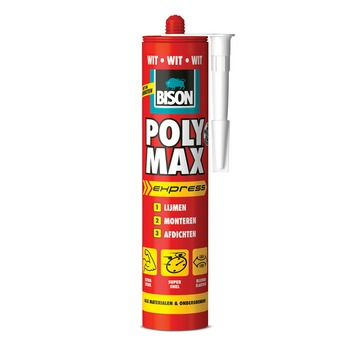 Bison Poly Max express wit koker 425 g