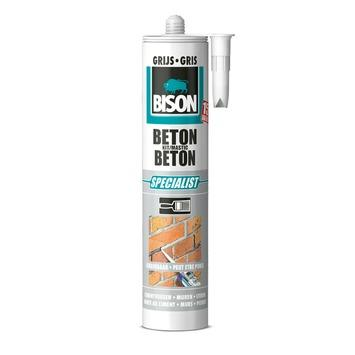 Bison beton kit grijs koker 310 ml