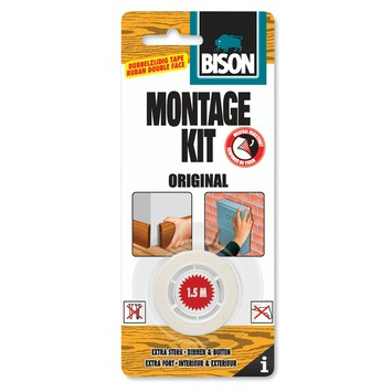 Bison montagekit original tape 19 mm x 1.5 meter