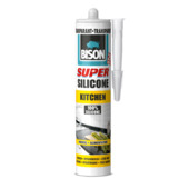 Bison Super kitchen siliconenkit transparant 310 ml