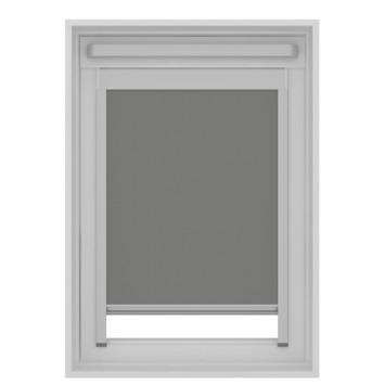 KARWEI dakraam rolgordijn VELUX® UK08 grijs (7004)