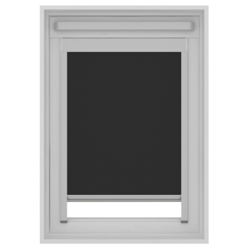 KARWEI dakraam rolgordijn VELUX®® CK02 zwart (7005)