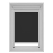 KARWEI dakraam rolgordijn VELUX®® SK06 zwart (7005)