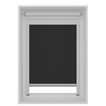 KARWEI dakraam rolgordijn VELUX®® UK04 zwart (7005)