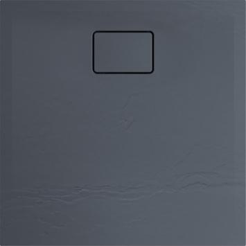 Allibert douchebak Terreno 80x80cm Vuursteengrijs