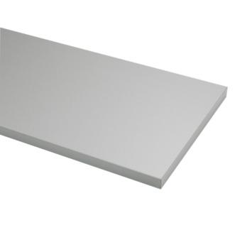 Meubelpaneel ABS aluminium 240x40 cm dikte 18 mm