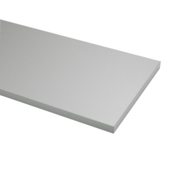 Meubelpaneel ABS aluminium 240x60 cm dikte 18 mm