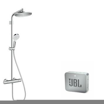 Hansgrohe Regendouchesysteem Crometta S240 thermostatisch met JBL speaker