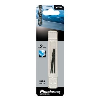 Piranha metaalboor X50010-QZ HSS-R 2 mm (3 stuks)