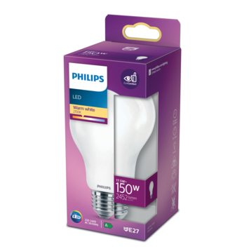 Philips LED peer E27 150W mat niet dimbaar