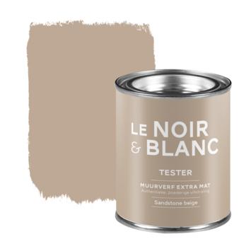 Le Noir & Blanc muurverf tester extra mat sandstone beige 100 ml
