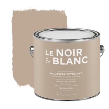 Le Noir & Blanc muurverf extra mat sandstone beige 2,5 liter