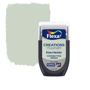 Flexa Creations muurverf Kleurtester Connecting Green 30ml