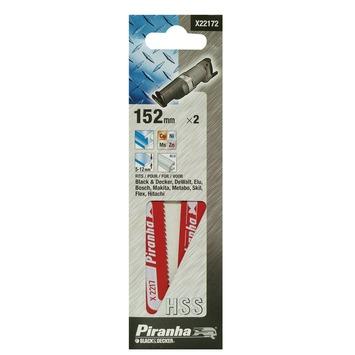 Piranha reciprozaagblad X22172-XJ HSS 152 mm (2 stuks) voor metaal