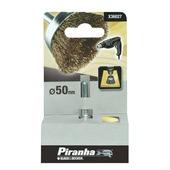 Piranha komstaaldraadborstel X36027-XJ messing 50 mm