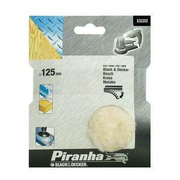 Piranha polijstschijf X32202-XJ lamswol 125 mm