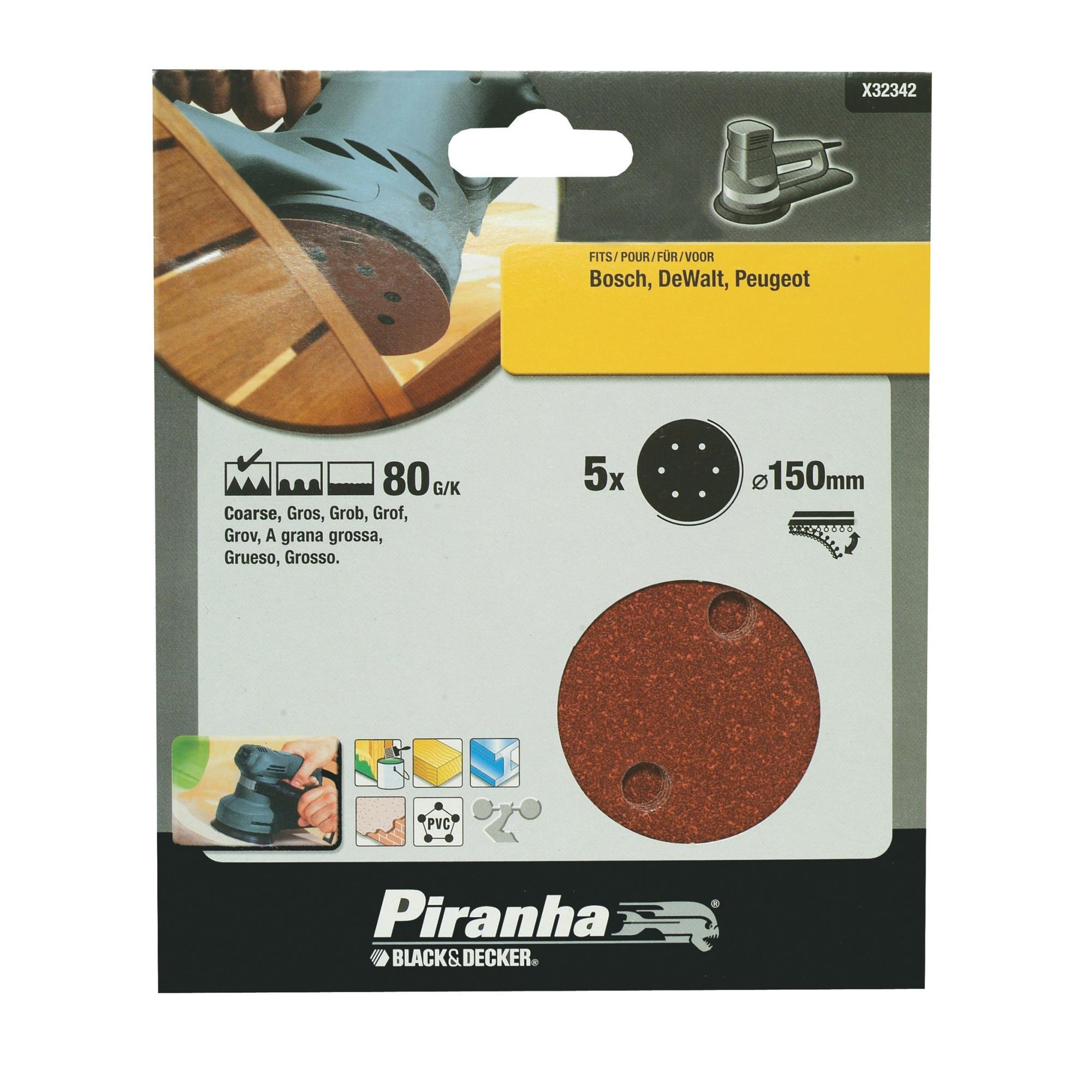 Piranha schuurschijf X32342-XJ K80 150 mm (5 stuks)