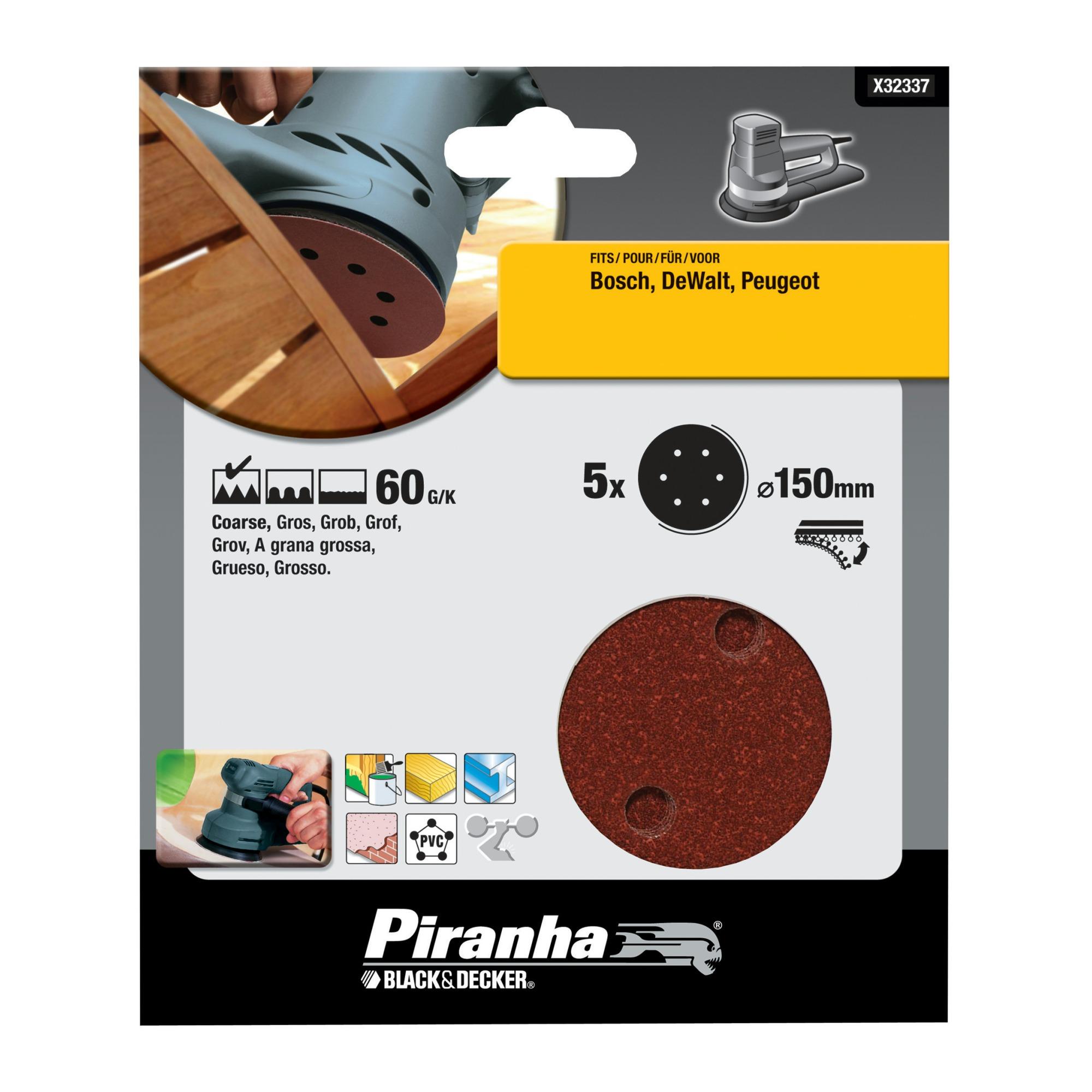Piranha schuurschijf X32337-XJ K60 150 mm (5 stuks)