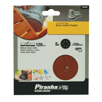 Piranha schuurschijf X32347 K120 150 mm (5 stuks)