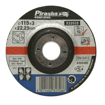 Piranha doorslijpschijf metaal X32025A-QN 3,2x115 mm (6 stuks)