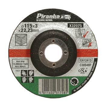 Piranha doorslijpschijf steen X32075A-QN 3,2x115 mm (6 stuks)