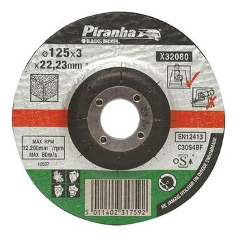 Piranha doorslijpschijf steen X32080A-QN 125x3,2 mm (6 stuks)