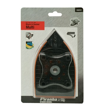 Piranha schuurmachinezool X32412-XJ kunststof