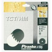 Piranha cirkelzaagblad X13255XJ TCT/HM 40 tanden 160x20 mm
