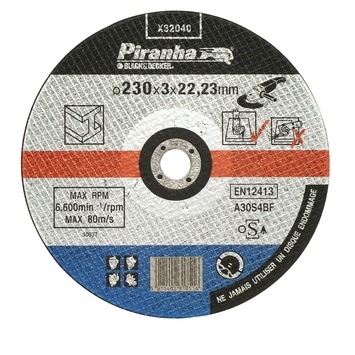 Piranha doorslijpschijf metaal X32040A-NL 320x3,2 mm (6 stuks)