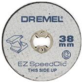 Dremel EZ SpeedClic snijschijven SC456B (12 stuks) voor metaal