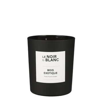 Le Noir & Blanc geurkaars Bois exotique