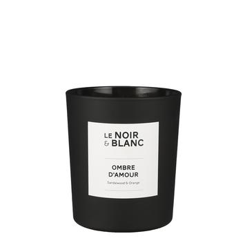 Le Noir & Blanc geurkaars Ombre d'amour