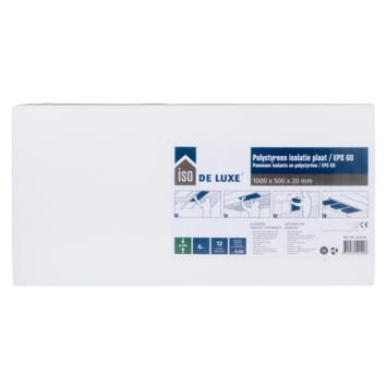 ISO de Luxe EPS plaat 100 x 50 x 2 cm 12 platen