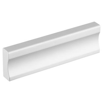 Greep Vierkant aluminium 84mm
