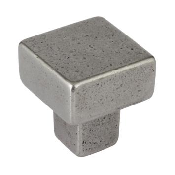 Knop Almar antiek ijzer 31mm
