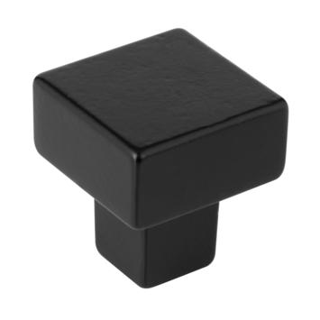 Knop Almar zwart 31mm