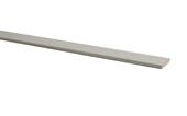 Plakplint wit eiken nr 413 240cm. 2 stroken