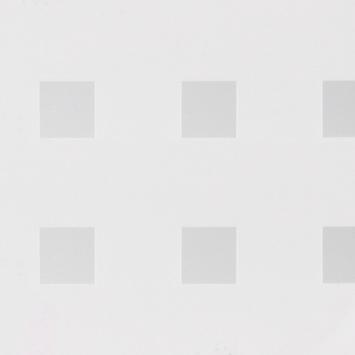 Statische raamfolie Blokje transparant (338-8010) 67,5x150 cm