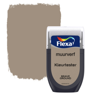 Flexa Creations muurverf Kleurtester Brave Ground 30ml