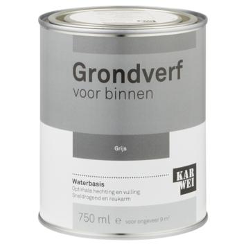 Karwei binnenlak grondverf 750 ml grijs