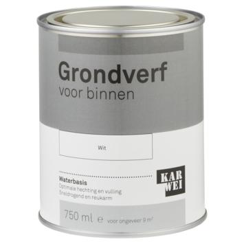Karwei binnenlak grondverf 750 ml wit