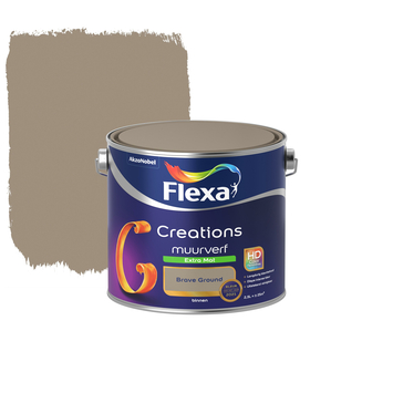 Flexa Creations muurverf extra mat Brave Ground 2,5 liter