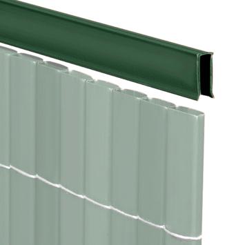 U-profiel groen voor balkonscherm 150 cm