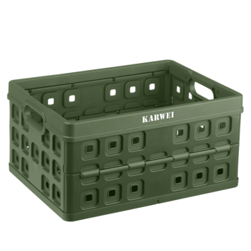 Vouwkrat Karwei legergroen 32 liter