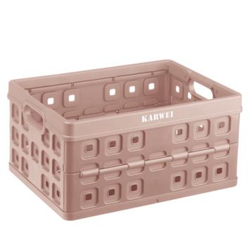 Vouwkrat Karwei roze 32 liter