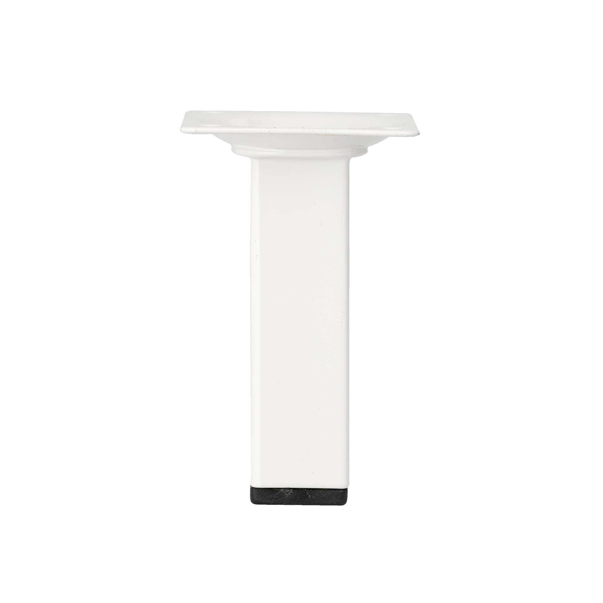Inspirations meubelpoot vierkant wit 2,5×10 cm