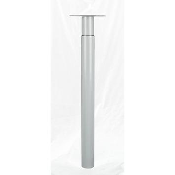 Inspirations meubelpoot Tess zilvergrijs verstelbaar 70 - 110 cm