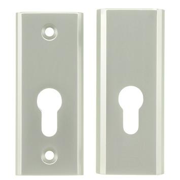 NEMEF veiligheidsheidsrozet rechthoekig SKG 3-sterren voor bijzetslot